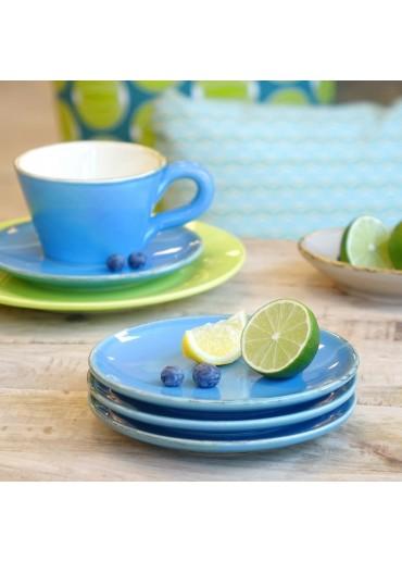 Grün & Form Untertassen / Dessert Teller blau (Sonderedition)