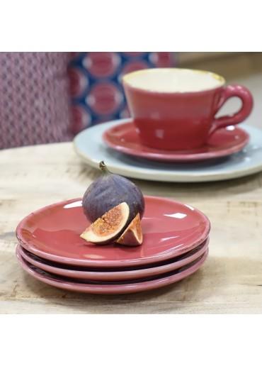 Grün & Form Untertassen / Dessert Teller Himbeere