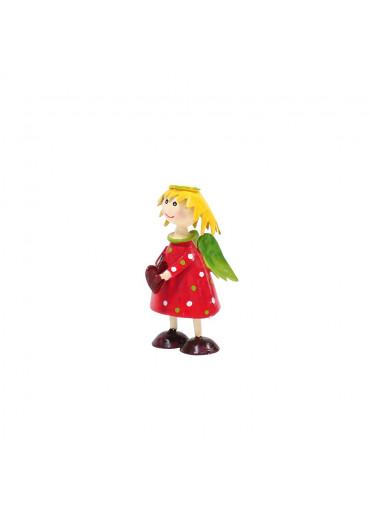 Engel Lena mini Rot zum Stellen