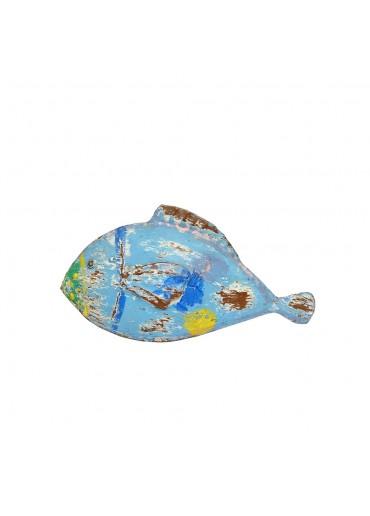 "Metall Fisch ""Fin"" zum Stellen blau"