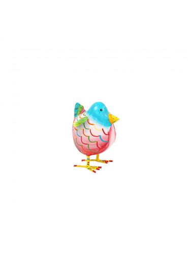 """Metall Vogelkind """"Frieda"""" 12,5 cm"""
