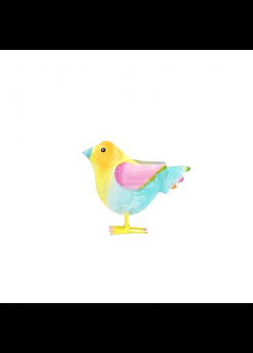 """Metall Vogelkind """"Bert"""" H 9 cm"""