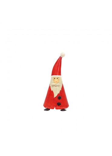 "Metall Santa ""Oskar"" M rot  H 20 cm"