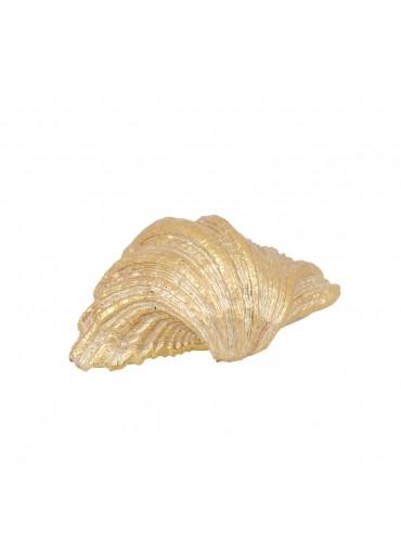 Goldene Muschel zum Legen