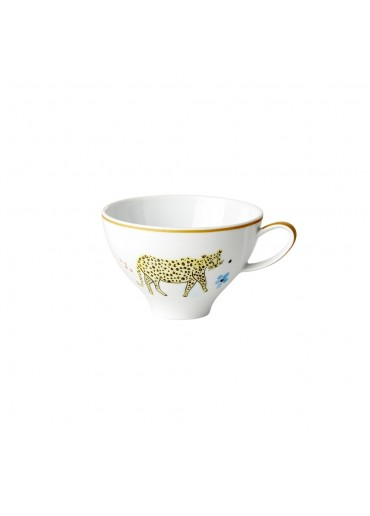 Rice Porzellan Teacup Leopard