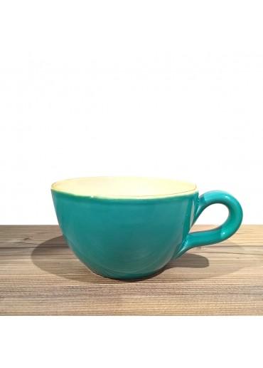 "Grün & Form Cappuccino Tasse ""grande"" türkis"
